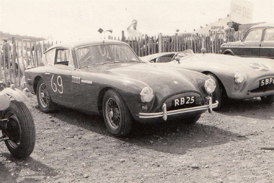 hight resolution of 1957 aceca ac bristol extensive racing histor