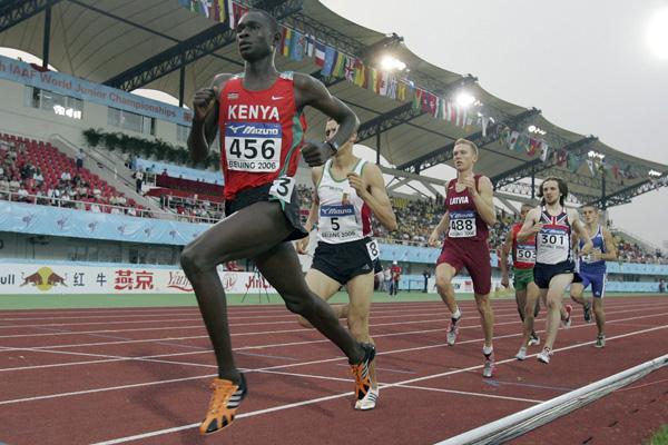 David Rudisha - 1st International Gold Medal