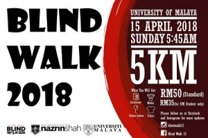 Blind Walk Charity Event 2018 - Race Connections