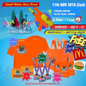 Songkrun Water Color Run 2018 - Race Connections