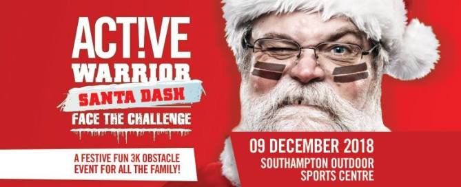 Active Warrior Santa Dash Obstacle Run - Race Connections