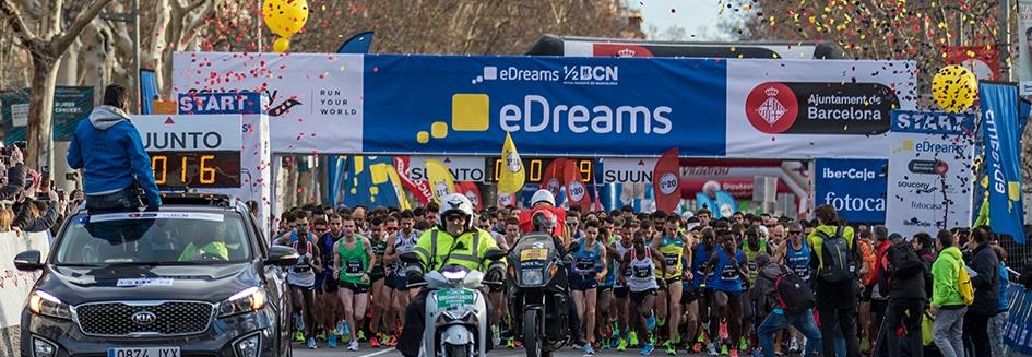 eDreams Mitja Marató de Barcelona (Barcelona Half Marathon) Race Connections