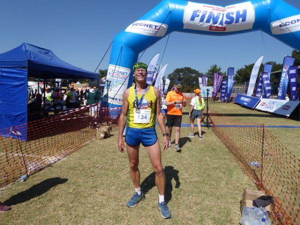 Jürgen Sinthofen - Econet Victoria Falls Marathon 2018 Report - Race Connections