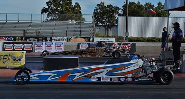 Junior Dragster winner Conner Rivers. Photo by JM Hallas