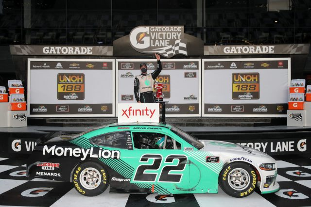 Austin Cindric Makes History With Victory At Daytona Road Course