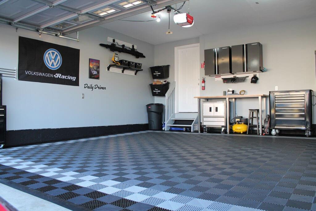 FreeFlow Self Draining Garage Flooring  RaceDeck