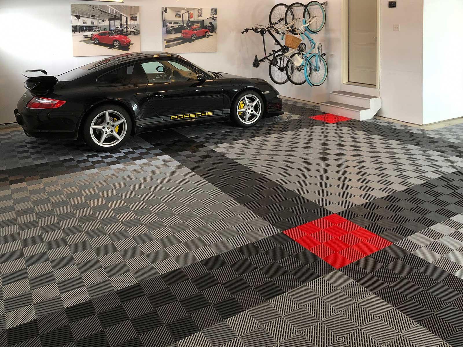 custom garage flooring tiles racedeck