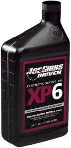 Joe Gibbs XP6 Engine Oil