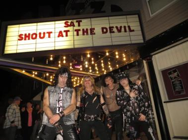 SHOUT AT THE DEVIL PROMO PIC