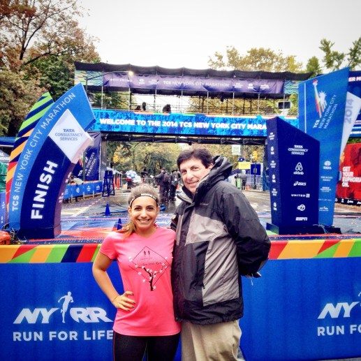 NYCM Finish Line