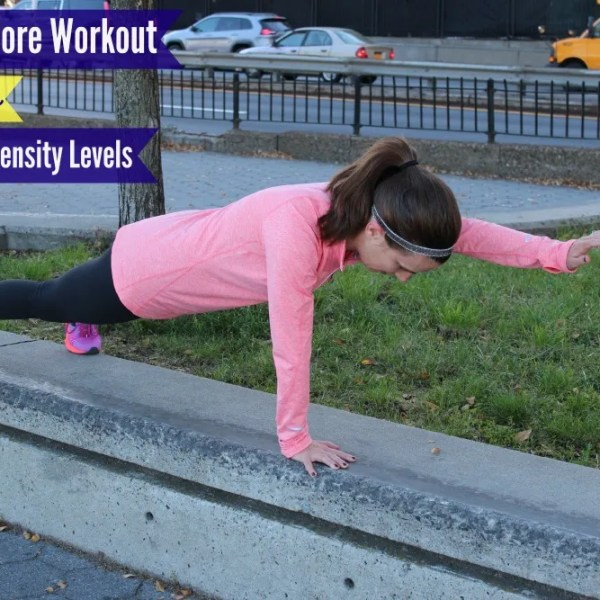 5 Minute Core Workout For Runners – 3 Different Intensity Levels