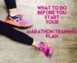 What to Do Before You Start Training for Your Fall Marathon