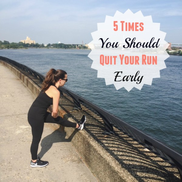 5 Times It Is Okay To Stop Mid-Run And Head Home