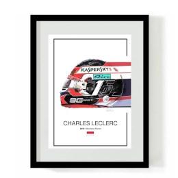 Charles Leclerc F1 Art