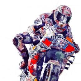 Marc-Marquez-MotoGP-art