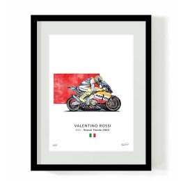 Valentino Rossi Repsol Honda 2002
