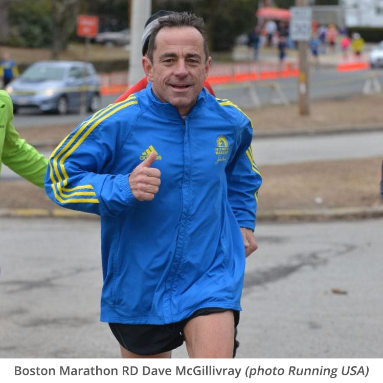Boston Marathon RD Dave McGillivray