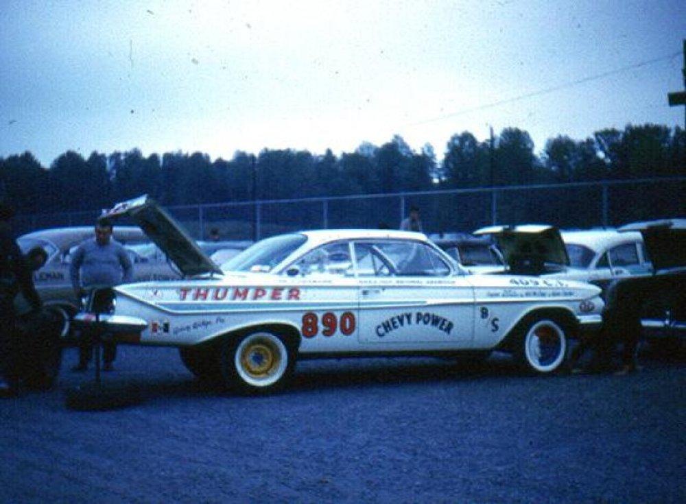 medium resolution of the thumper b stock 61 impala 409