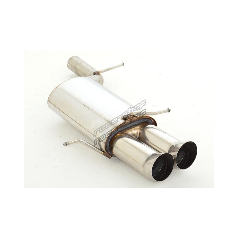 sport exhaust silencer audi a4 b5 quattro ece approval 971013 x