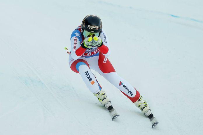 Lara Gut in azione a Garmisch (@Zoom agence)