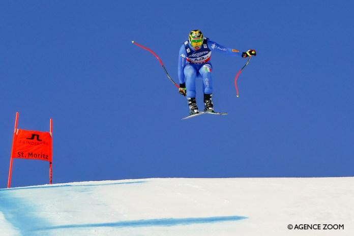 Dominik Paris in volo ©Agence Zoom