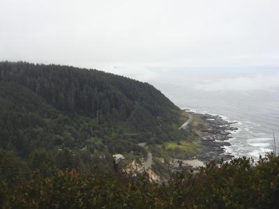Cape Perpetua, near Yachats (yah-HOTS).