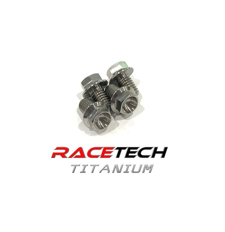 Aerospace Grade Titanium Rotor Bolt kit for JJ&A Drag Axle