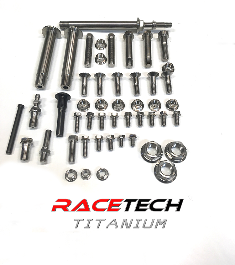 Titanium Rear Suspension & Linkage Bolt Kit (2017-19 KTM