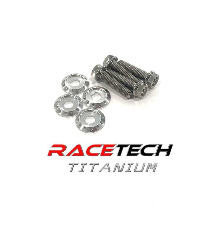 Titanium Radiator Bolts (2000-07 Honda CR125 & CR250