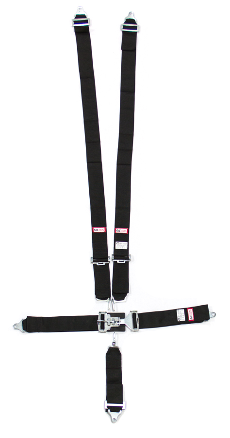 RJS SAFETY 5-PT Harness System Bk Ind Wrap Mt 3in Sub