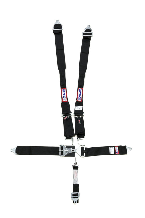 RJS SAFETY Harness System 5 Pt Blk Hans Shoulder Ind Wrap