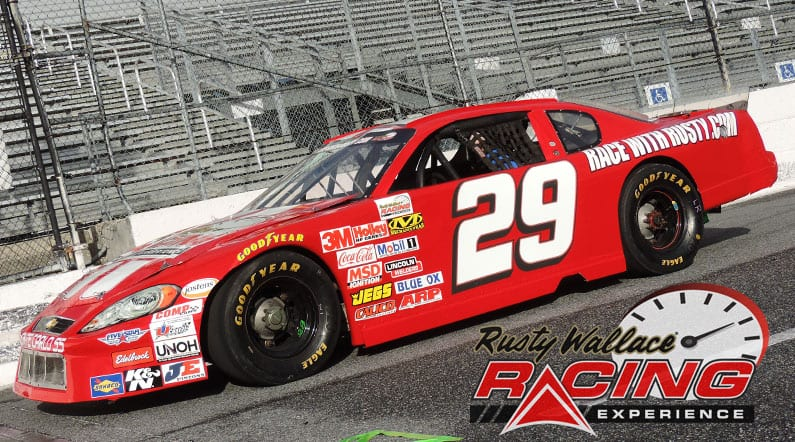 Rusty Wallace Racing Experience at New Smyrna Speedway, NASCAR Racing Experience, Driving School