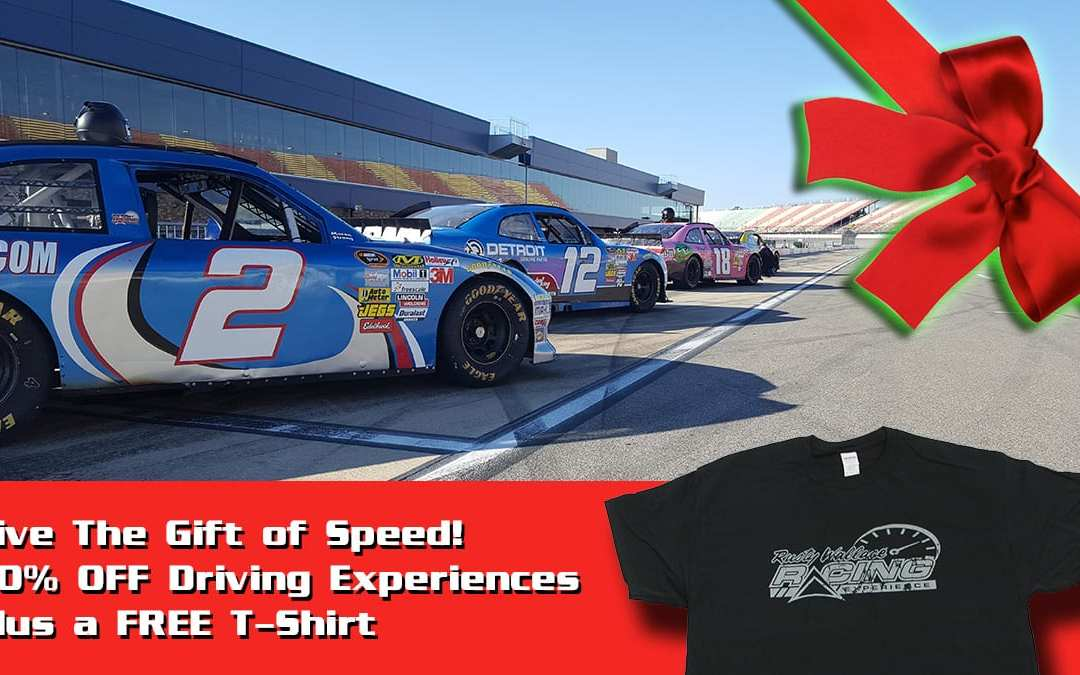 Holiday Deal – 60% OFF Driving Experiences & FREE T-Shirt