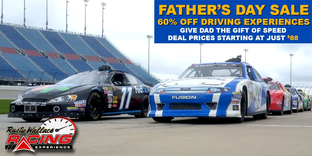 Give Dad The Gift Of Speed For Father's Day – Save 60% OFF Driving Packages