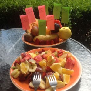 Fruit salad of love for Wedding #50
