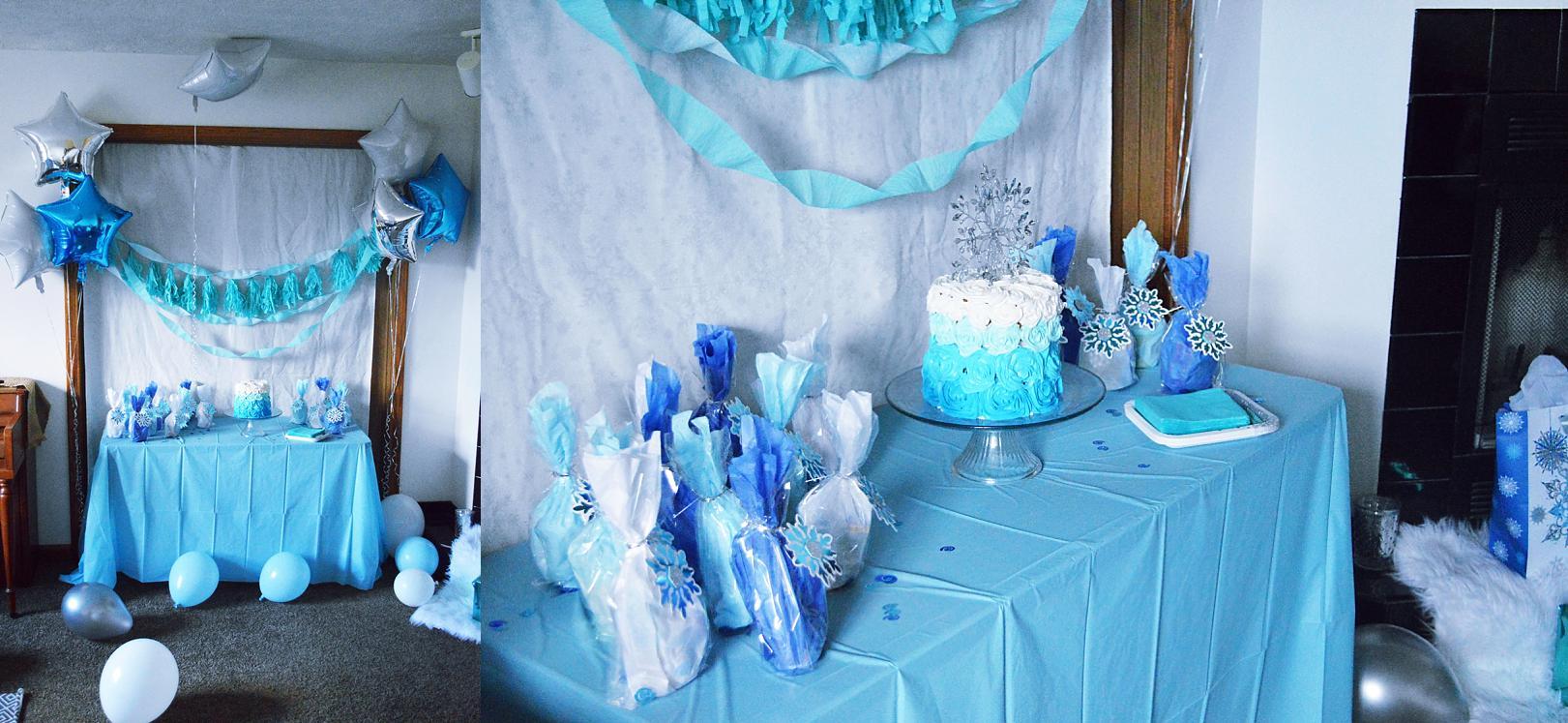 Diy Frozen Party Easy Beautiful Frozen Cake Frozen Party Games Rachael Burgess