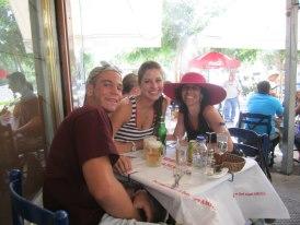 Genson family in Greece