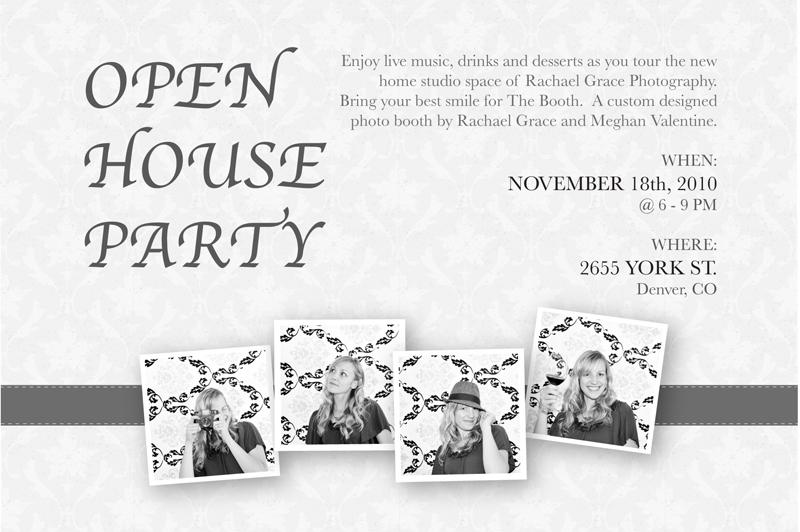 Open House Party! – Denver Family Photographer – Rachael Grace