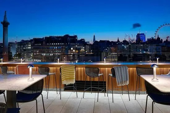 Rooftop Trafalgar St James London Rooftop Bar Restaurant