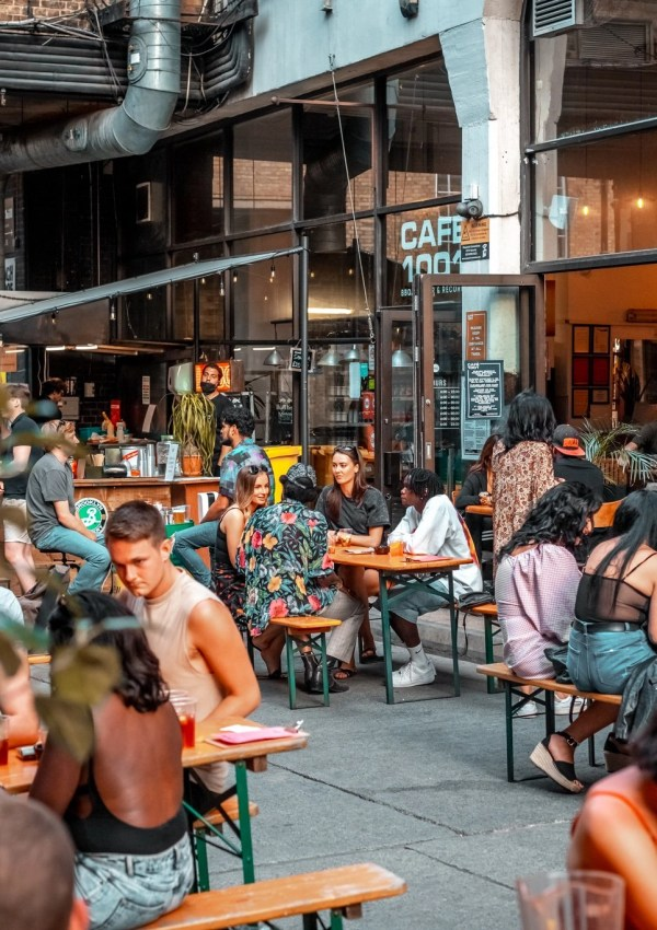 The Best Places to Eat & Drink Outside In Shoreditch