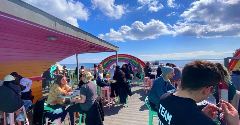 Brightons best rooftop bars - bar revenge