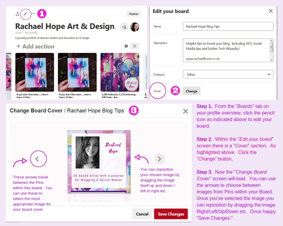 How to Set Board Cover Graphics
