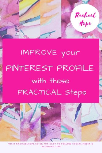 If you are curious about how to improve your Pinterest profile I really do encourage you to read on. I have included an easy to follow how to guide within each step to make them super accessible. Today I have been showing my Pinterest profile some much needed TLC! I thought I could share the 5 steps I have taken with you.