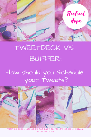 Within this post I will be discussing Tweet scheduling. Specifically scheduling Tweets using either Buffer or Tweetdeck. Think of it as a face off between the two platforms! So, Tweetdeck vs Buffer though? How should you schedule your Tweets?