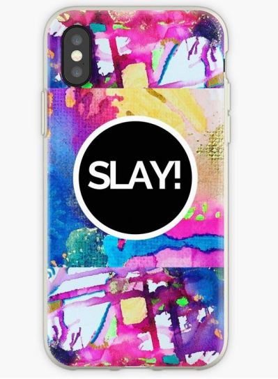 Don't just SLAY the day with a new iPhone Case/Skin ...This design is also available on the following: #Totebag #Mug #Stickers #Case/Skin #SamsungGalaxy #GreetingCard