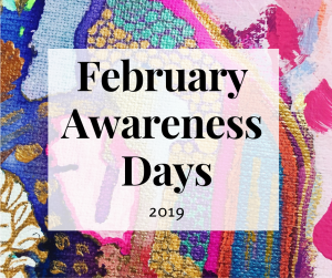 I would like to introduce to you my updated list of Social Media Awareness Days for 2019* to inform your Blog and Social Media Content!