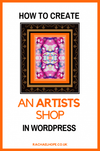 Today I'm setting up an online shop through my WordPress site. If you're an Artist or Blogger, why not come along for the ride as I learn? #artprojects #artforsale #sellartonline #woocommerce #sellingart #wordpresstips #makemoneyfromhome #makemoneyblogging