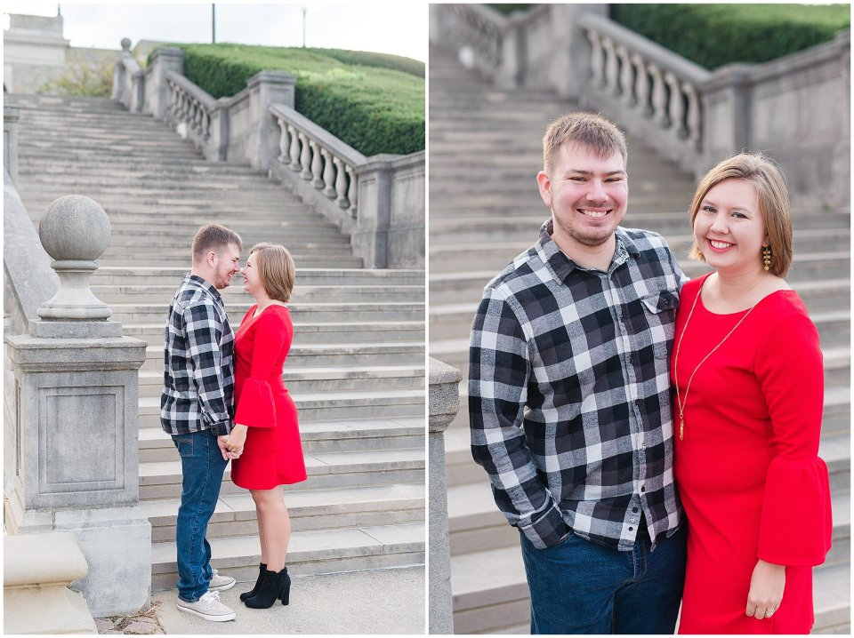 Christmas Inspired Engagement Photos