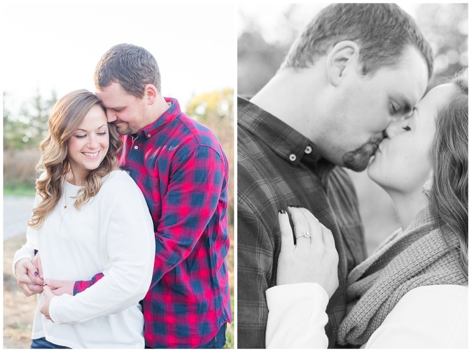 Dreamy Fall Engagement Pictures in Dayton OH