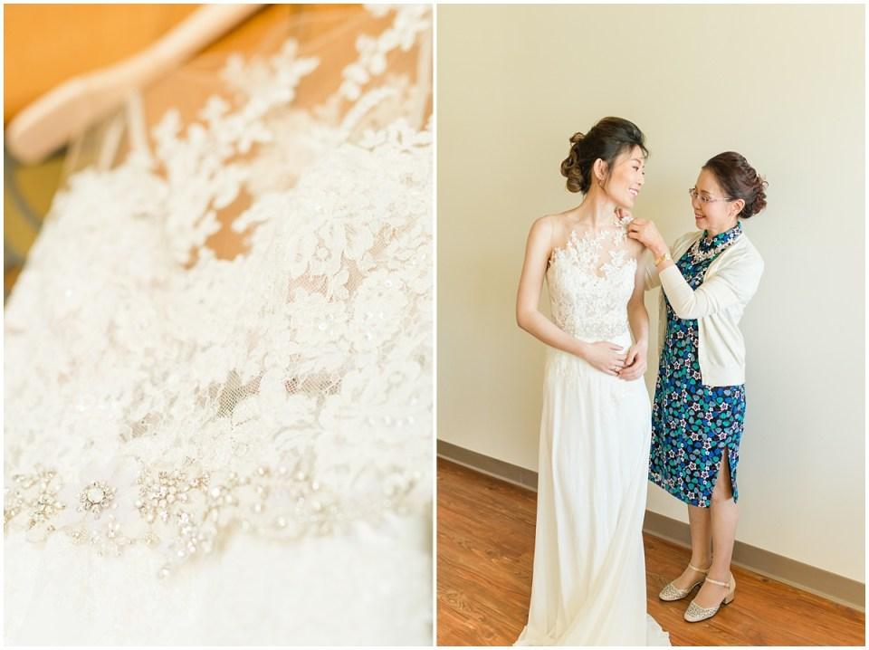 Classy Spring Saint Clare Chapel Cincinnati Wedding by Rachael Leigh Photography